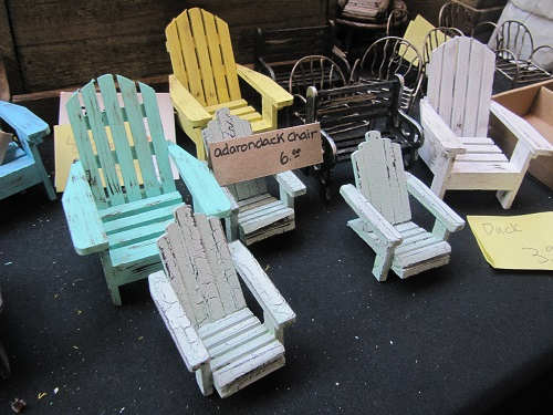 Fairy Garden Adirondack Chairs