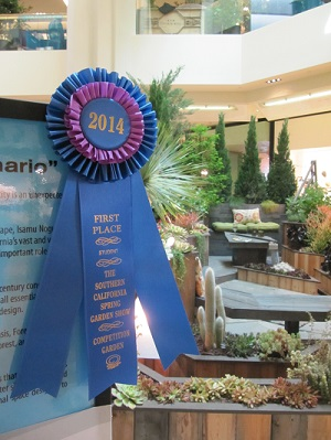 1st Place Display Garden Spring Garden Show 2014