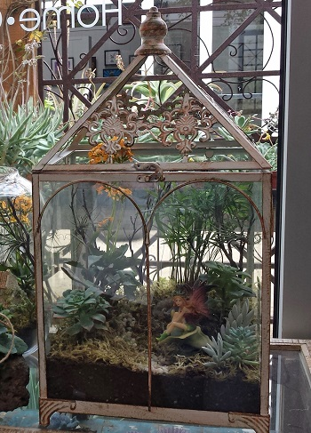 Fairy Garden Terrarium Greenhouse